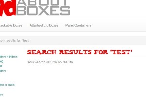 No search results in Magento