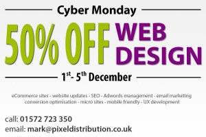 50 percent off web design